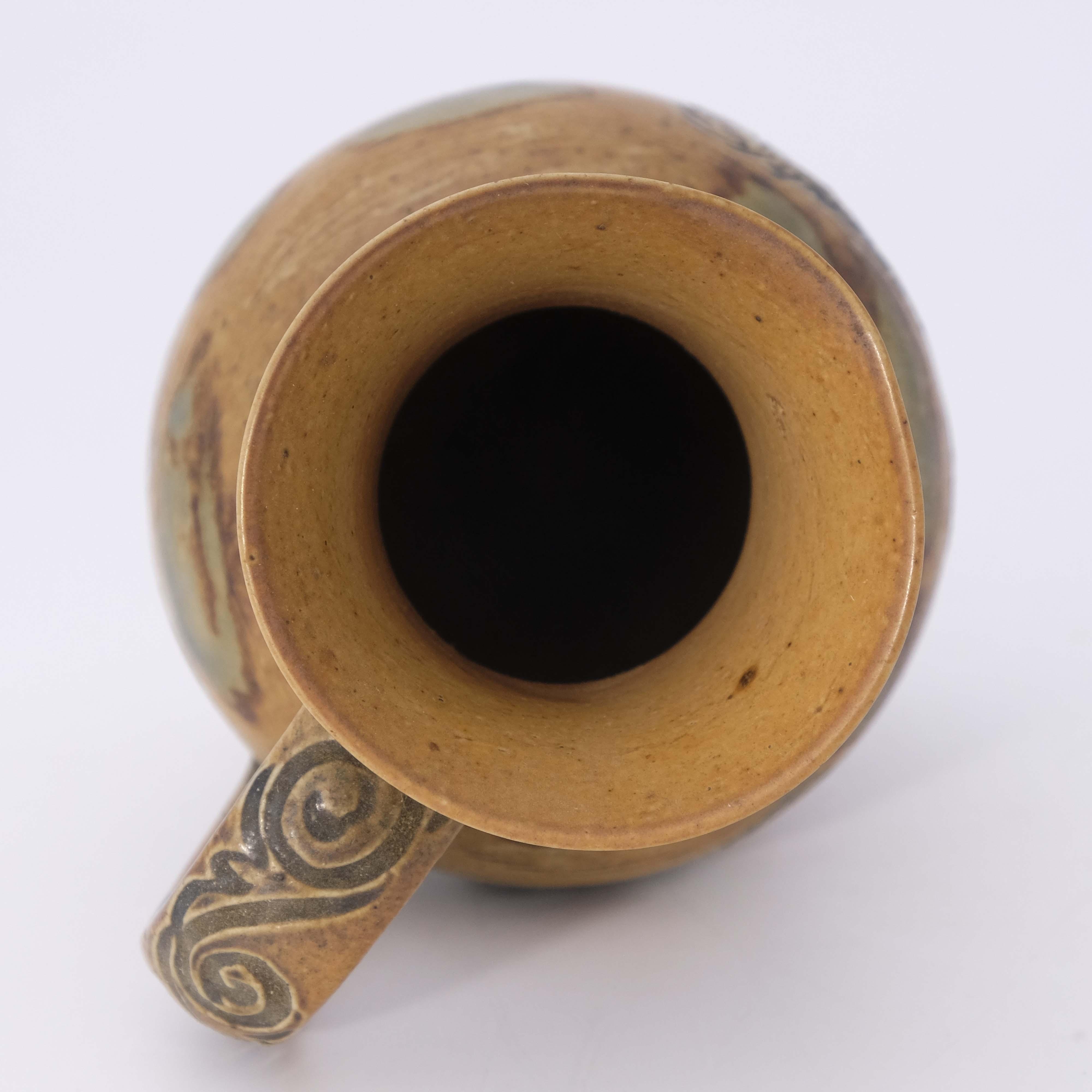 Hannah Barlow for Doulton Lambeth, a stoneware jug - Image 5 of 6