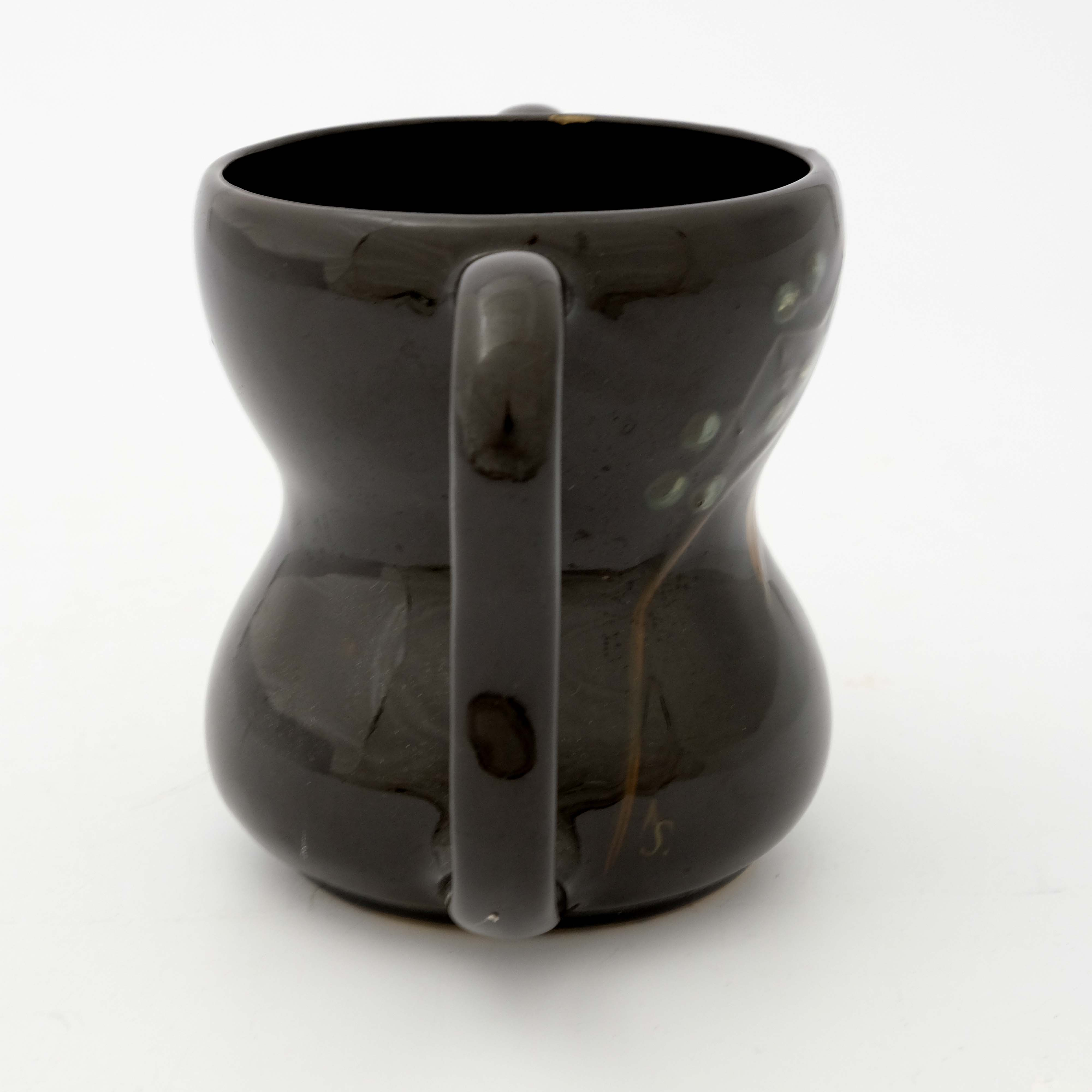 Weller Pottery, a Dickensware twin handled vase - Image 4 of 5
