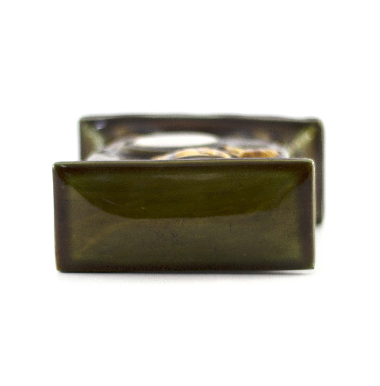 Charles Noke for Royal Doulton, a green Kingsware - Image 7 of 7