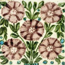 William De Morgan, a Bedford Park Anemone tile
