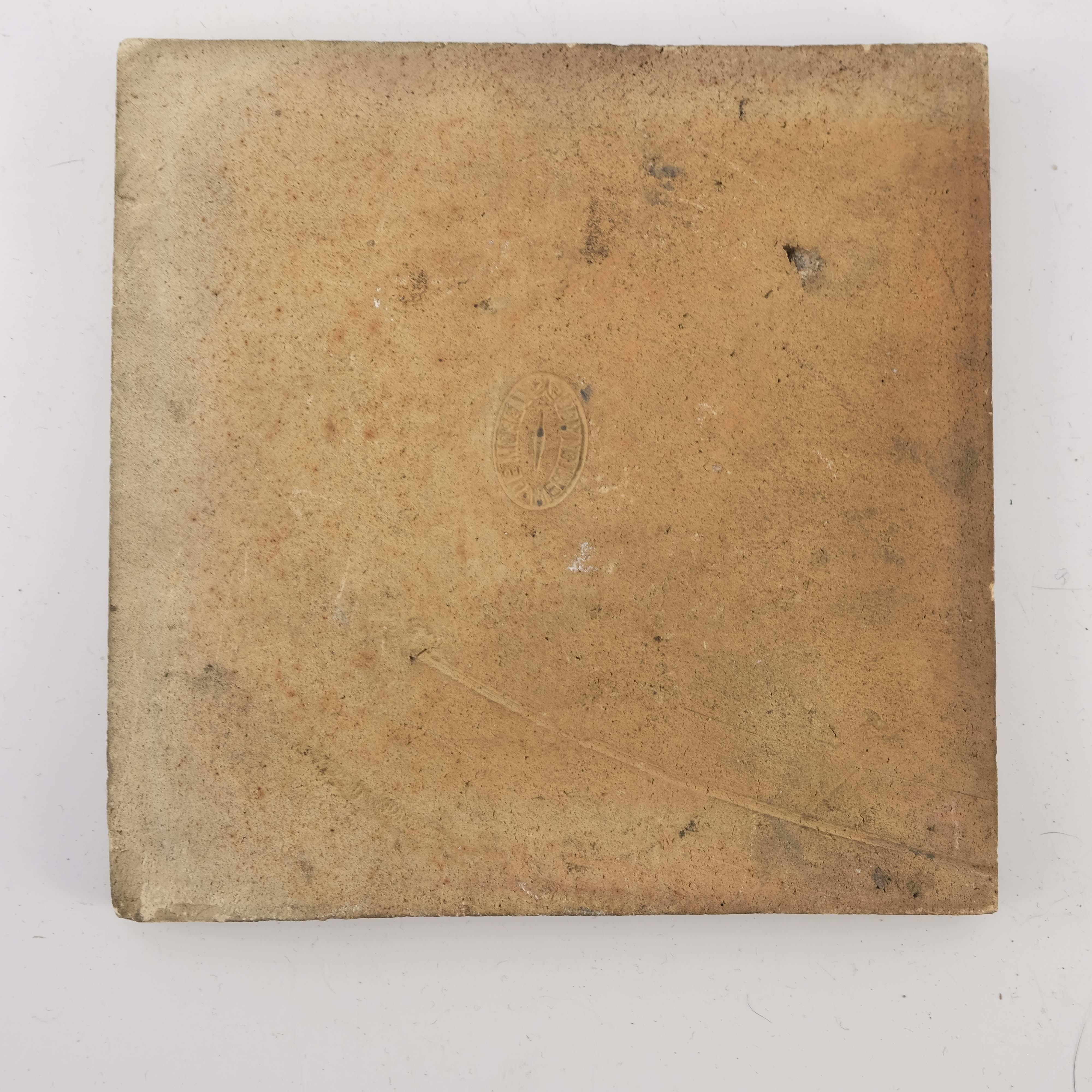 William De Morgan, a K L Rose tile - Image 2 of 2