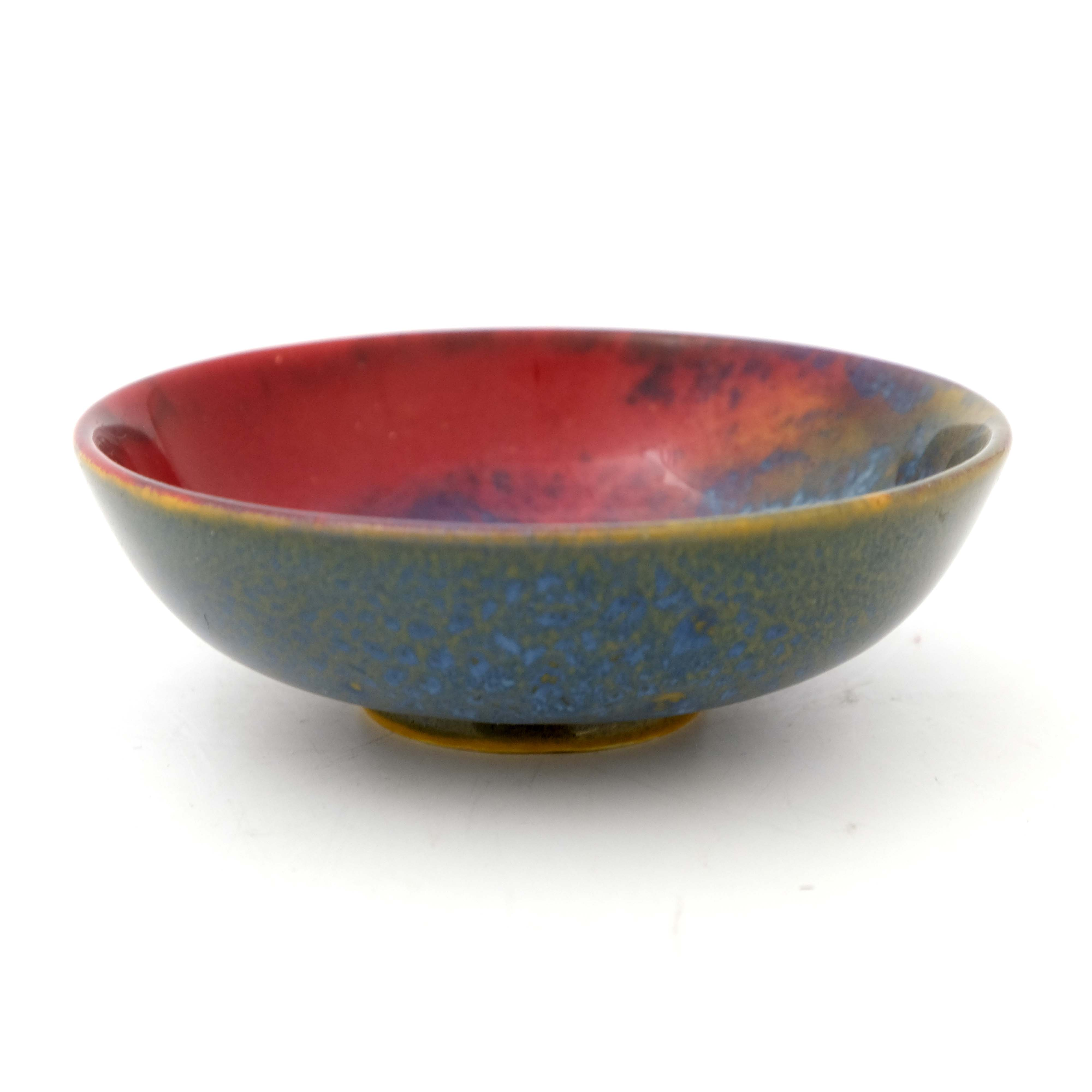 Harry Nixon for Royal Doulton, a Sung Flambe bowl - Image 3 of 5