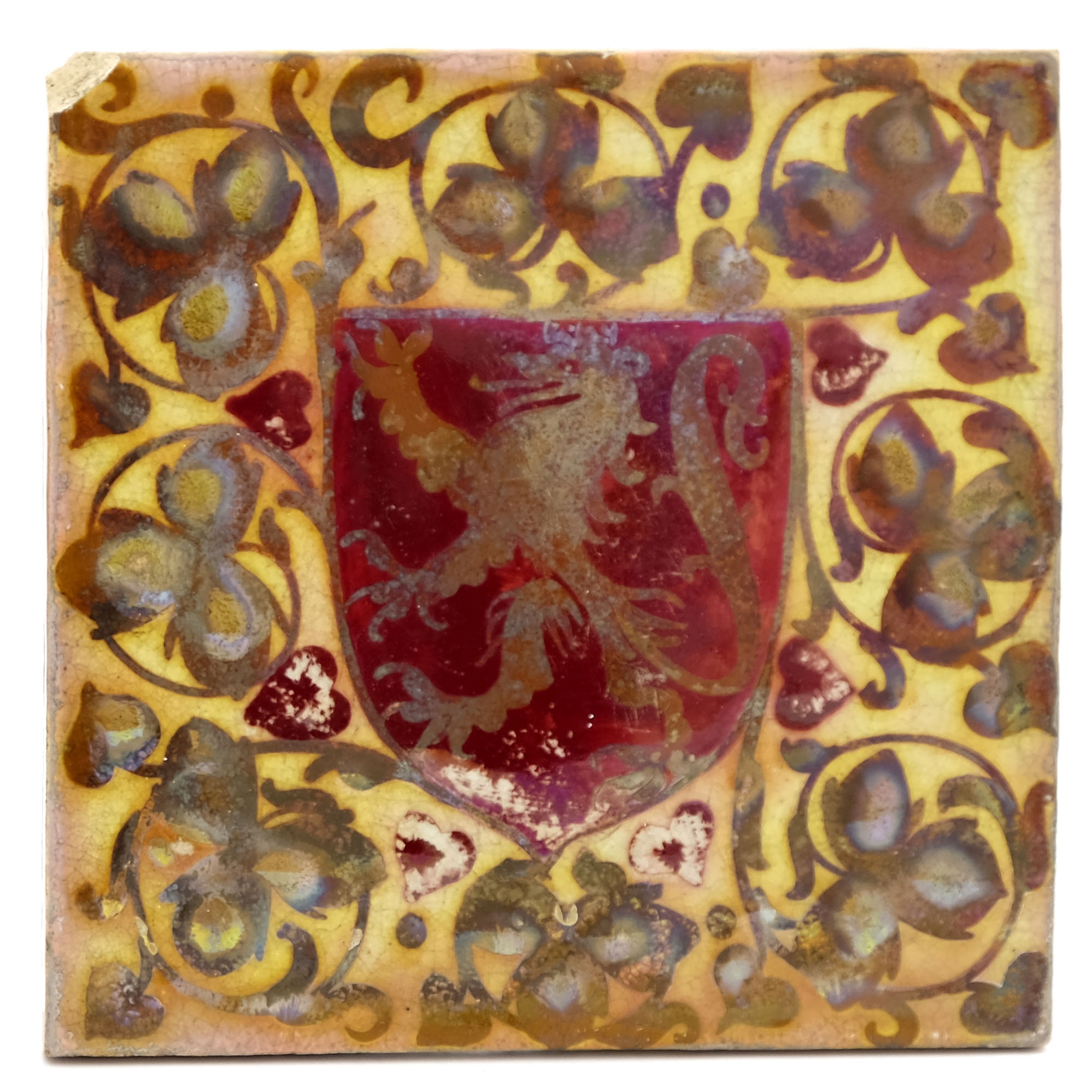 Pilkington, a Royal Lancastrian relief moulded her