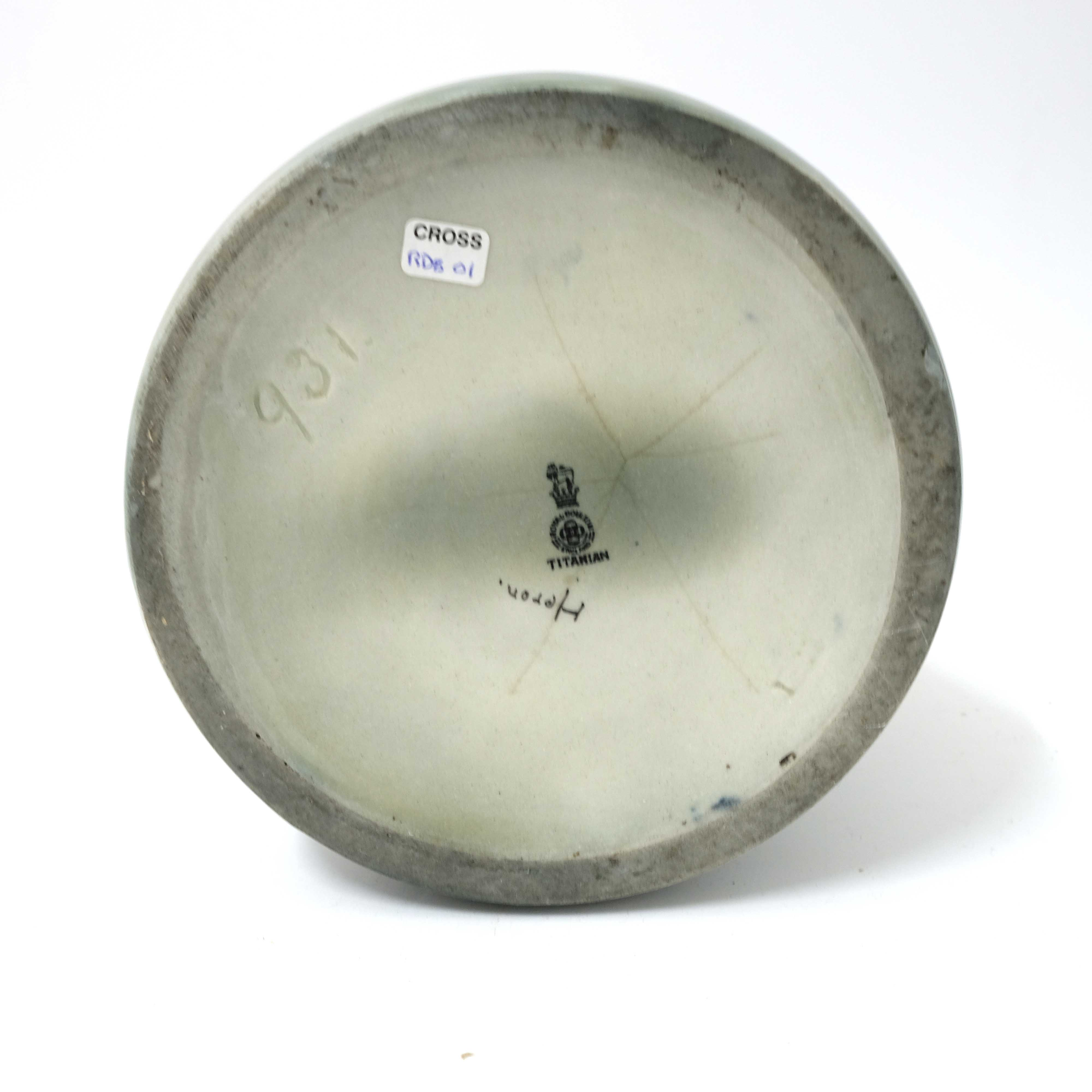 Harry Allen for Royal Doulton, a very large Titani - Image 5 of 5