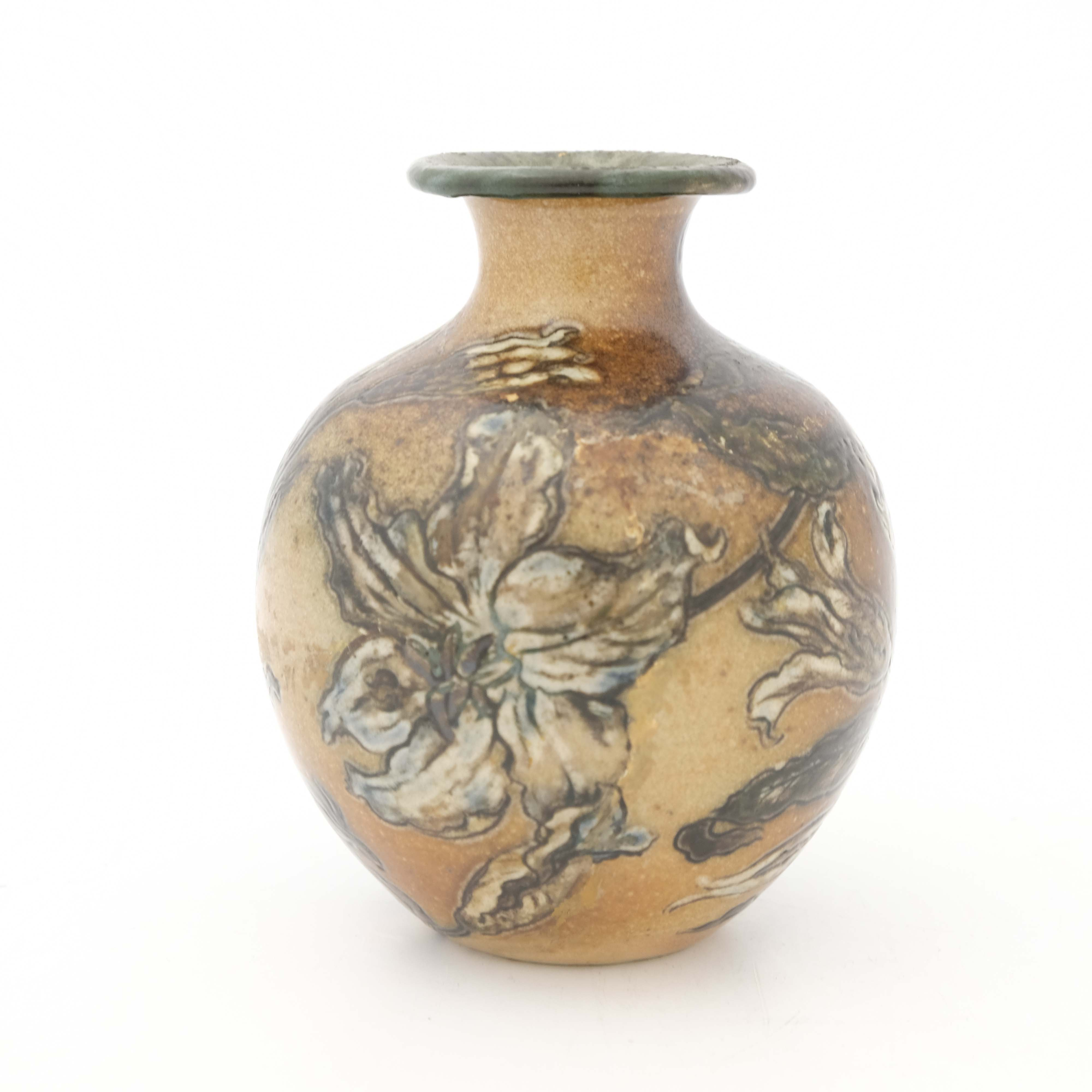 Edwin Martin for Martin Brothers, a stoneware vase - Image 2 of 5