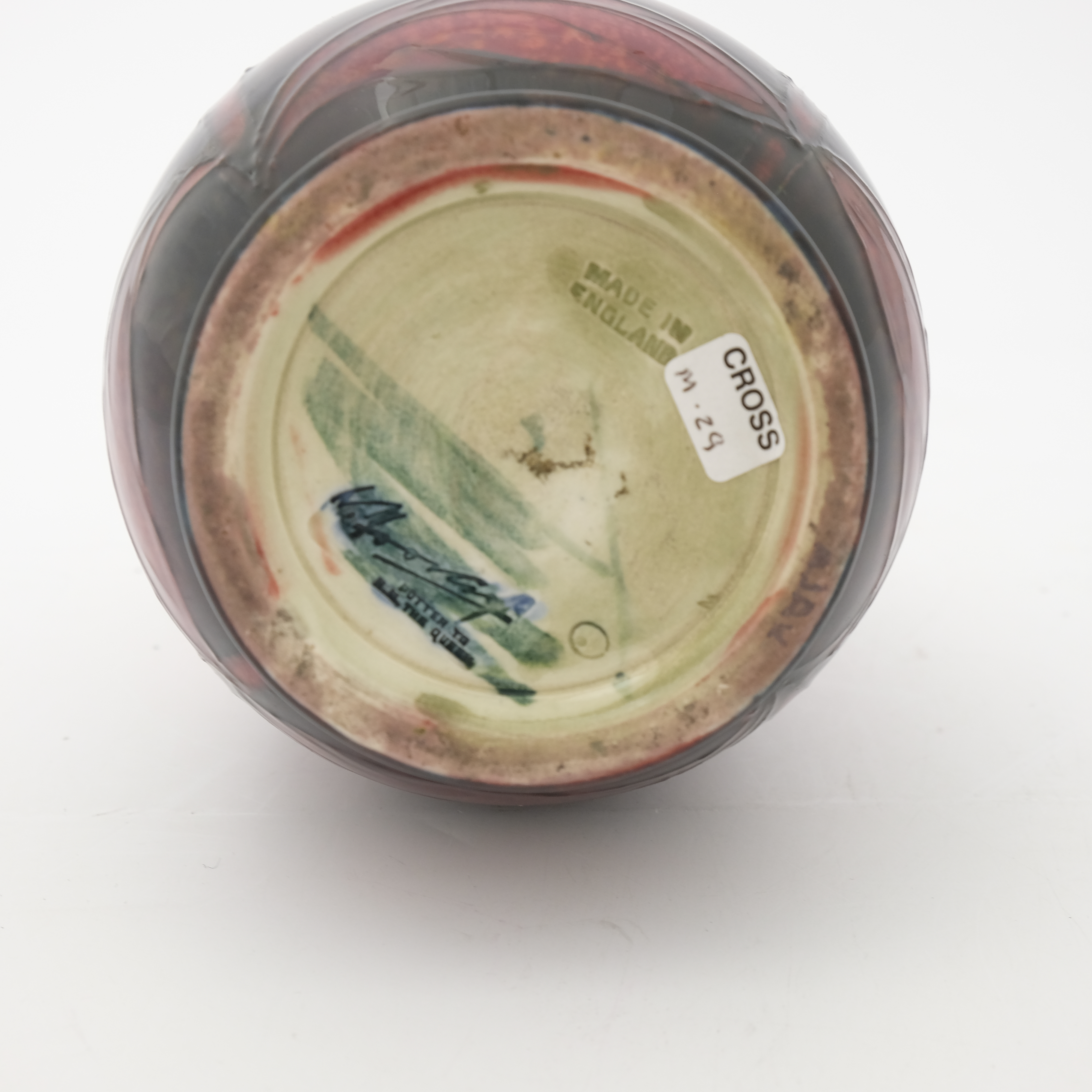 William Moorcroft, a Flambe Waratah vase - Image 5 of 5
