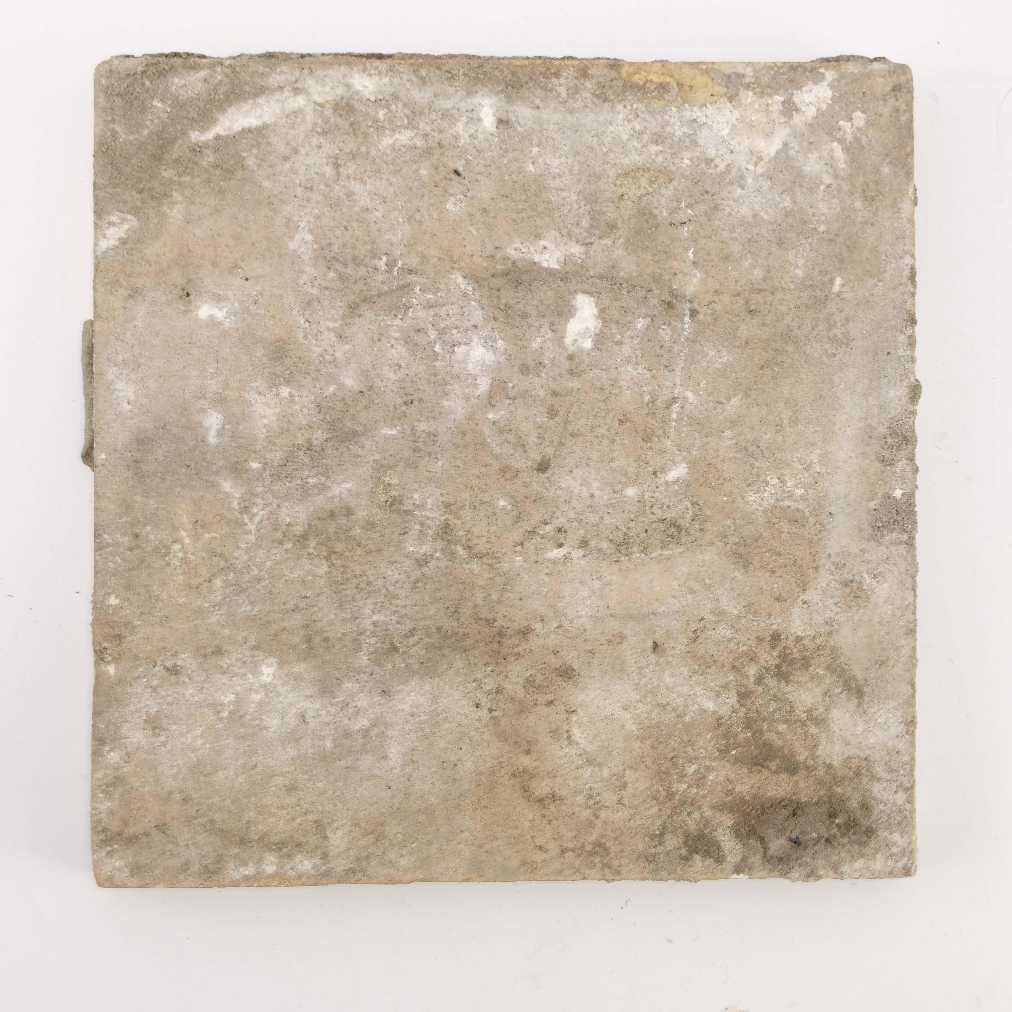 William De Morgan, a Bedford Park Anemone tile - Image 2 of 2