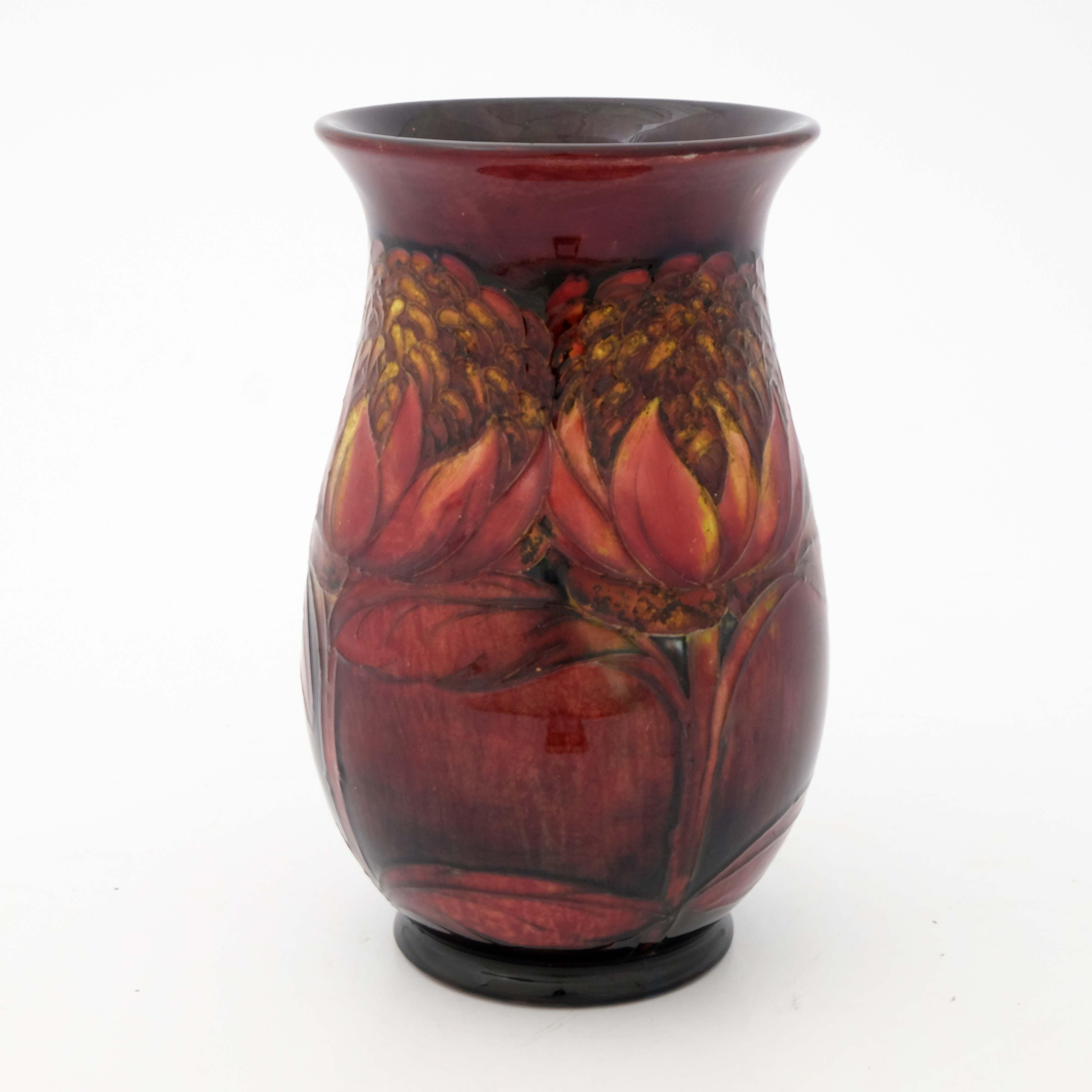 William Moorcroft, a Flambe Waratah vase - Image 4 of 5