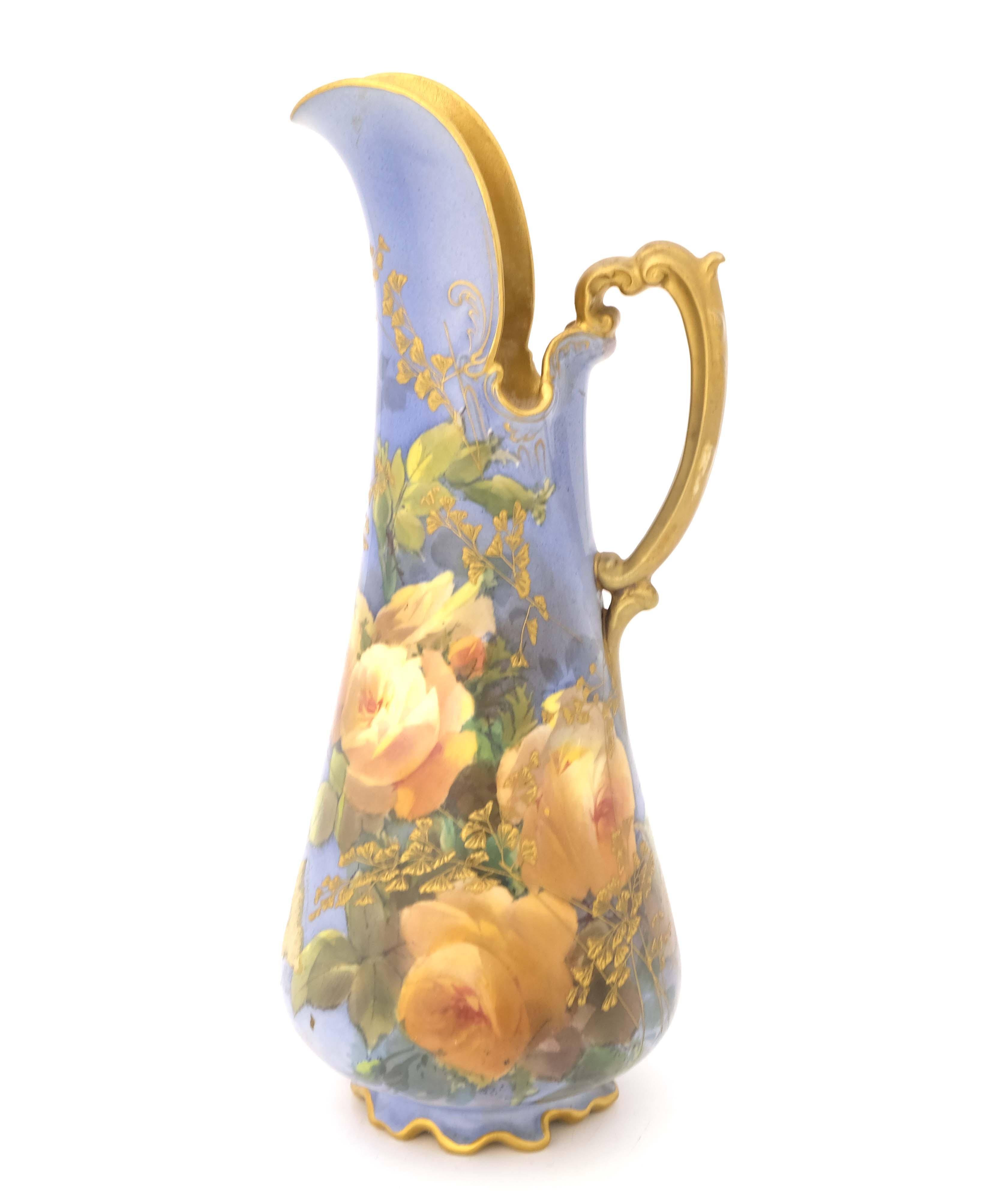 Leonard Bentley for Doulton Burslem, a rose painte - Image 3 of 6