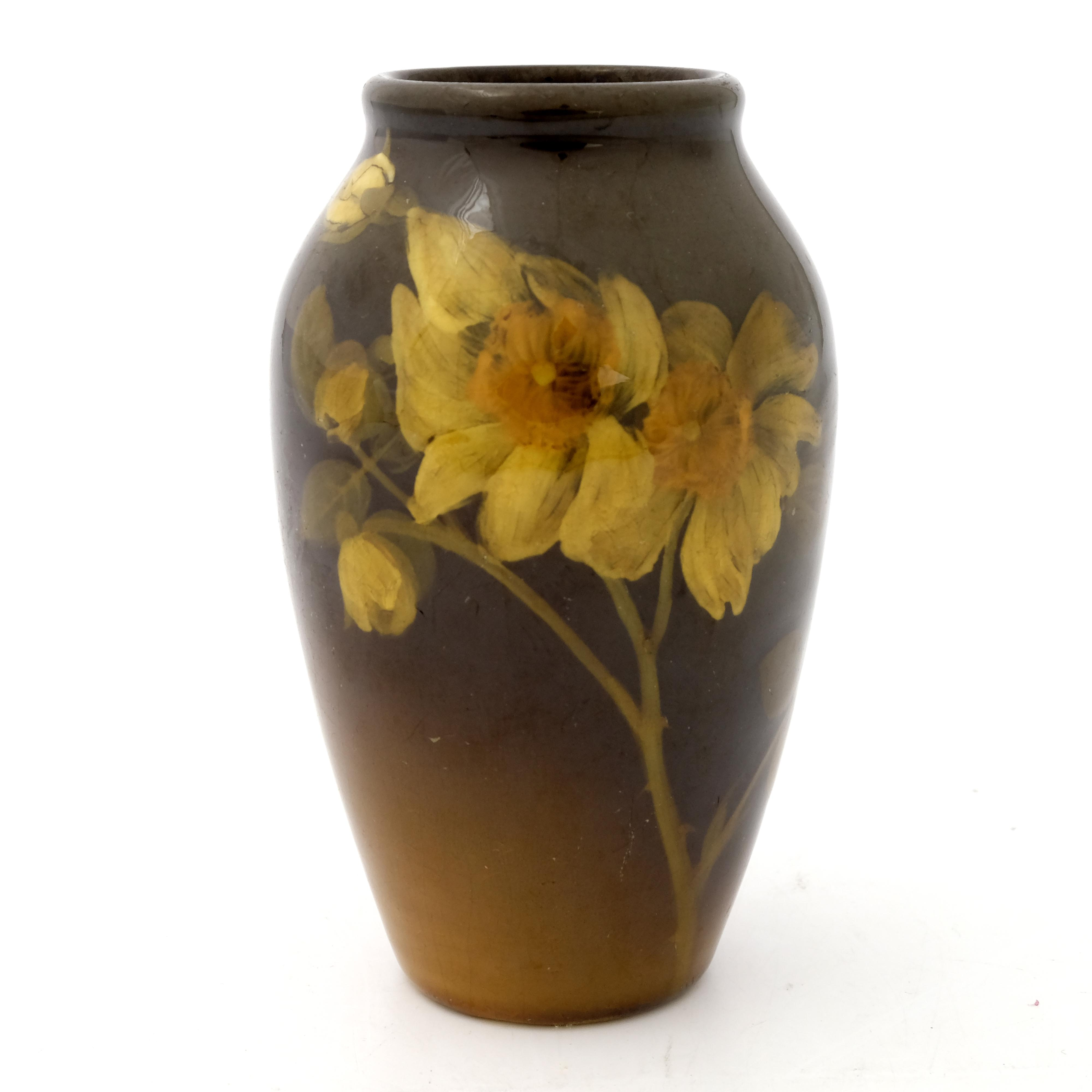 Rookwood Pottery, a slip decorated vase