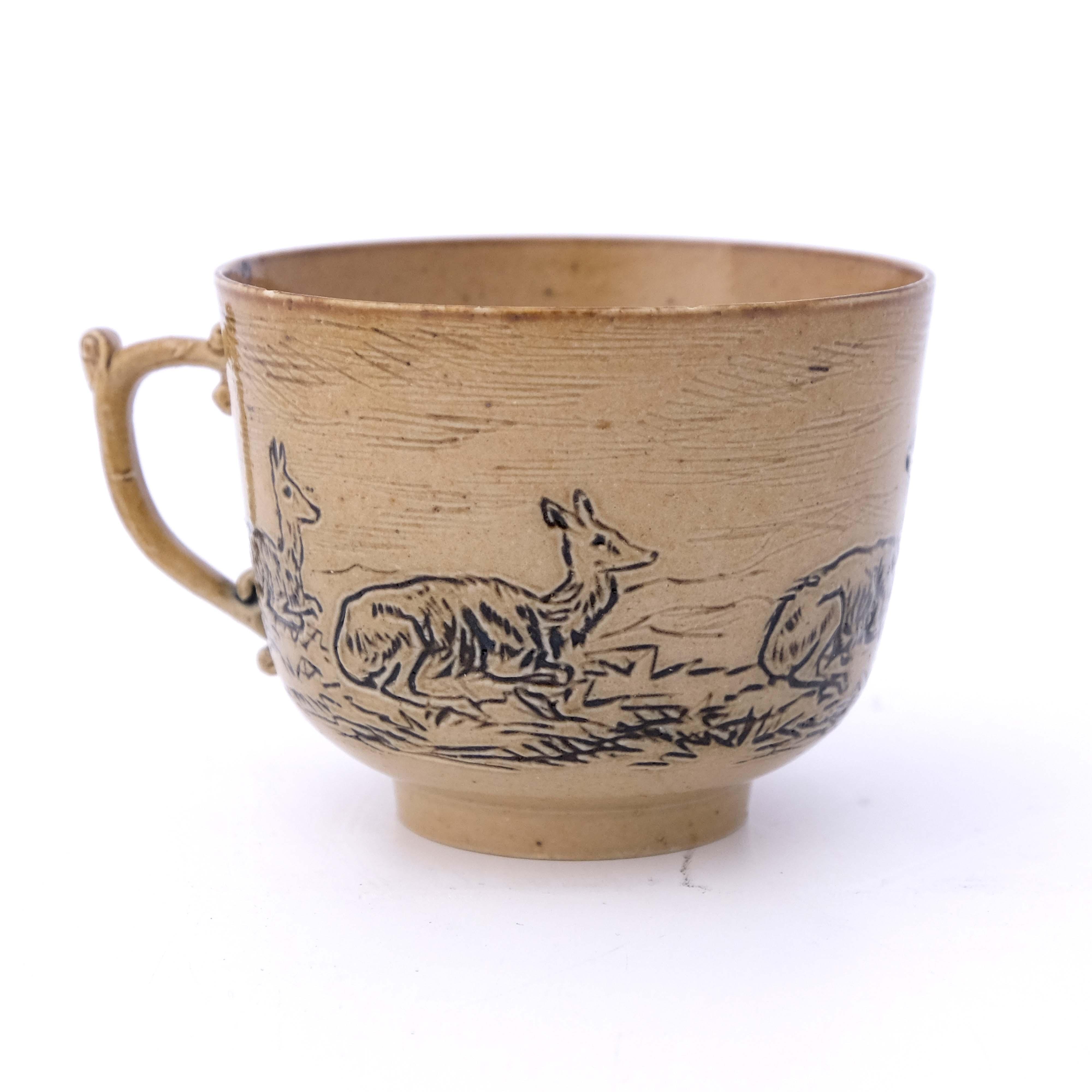 Hannah Barlow for Doulton Lambeth, a stoneware cof - Image 2 of 5