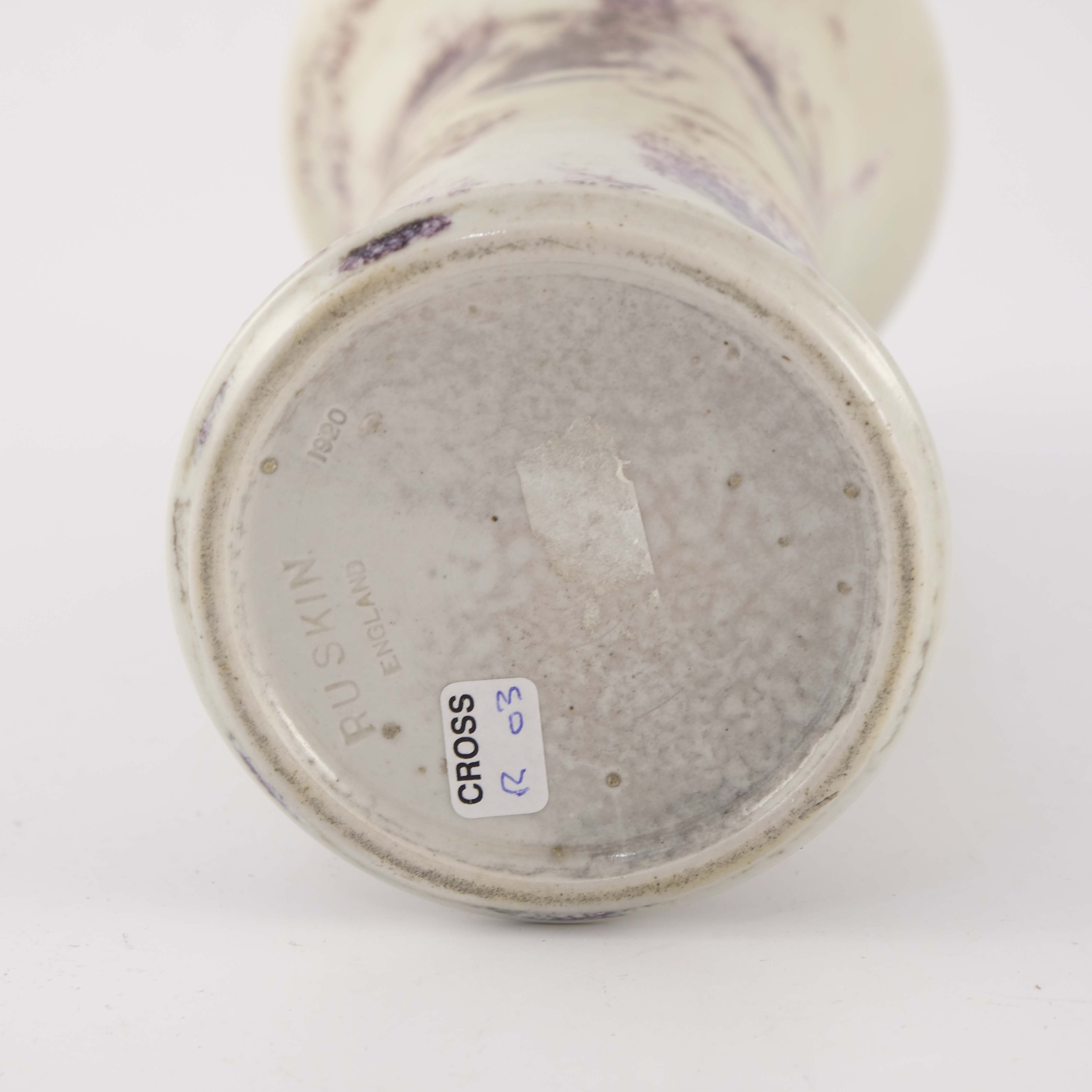 Ruskin Pottery, a High Fired Lily vase - Image 4 of 4