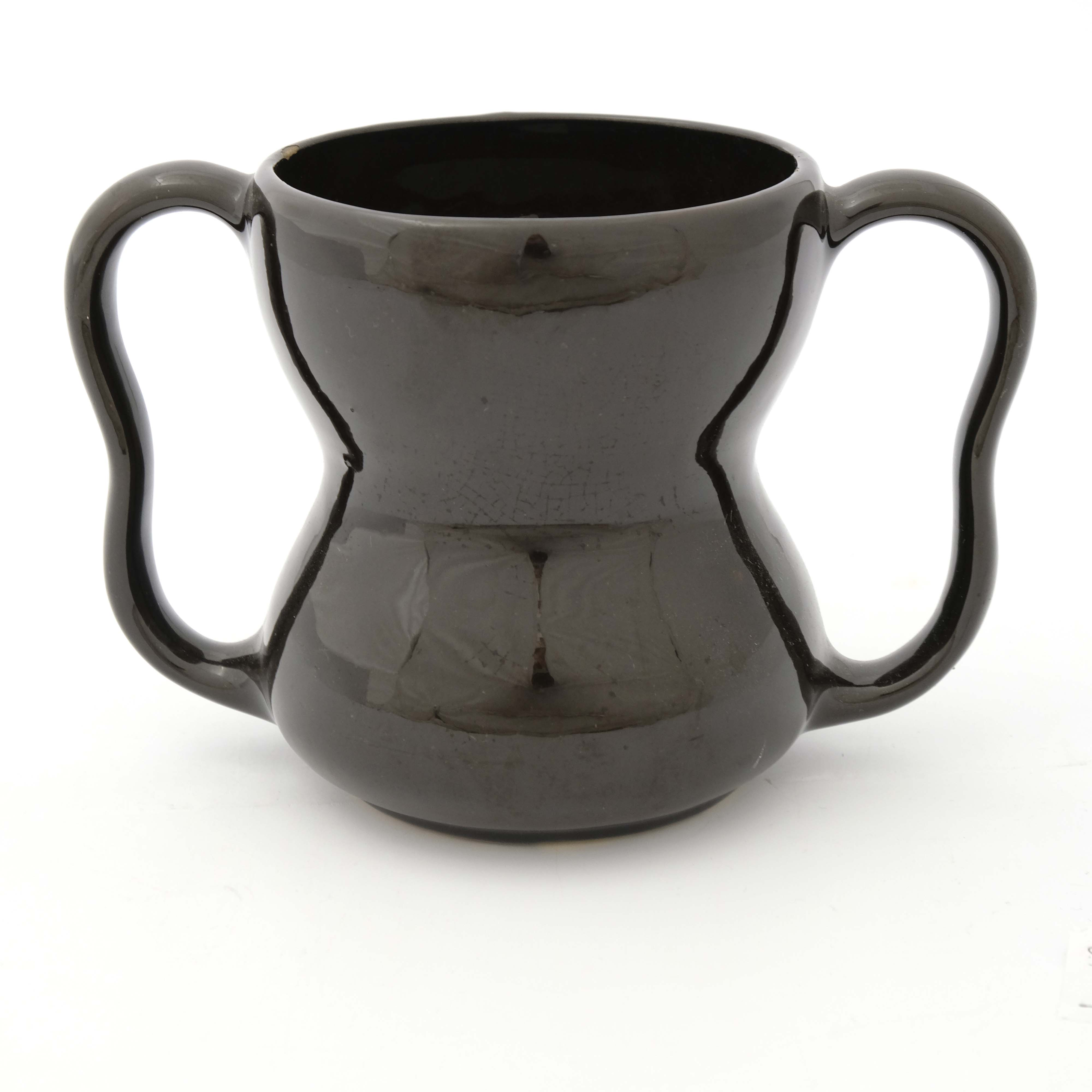Weller Pottery, a Dickensware twin handled vase - Image 3 of 5