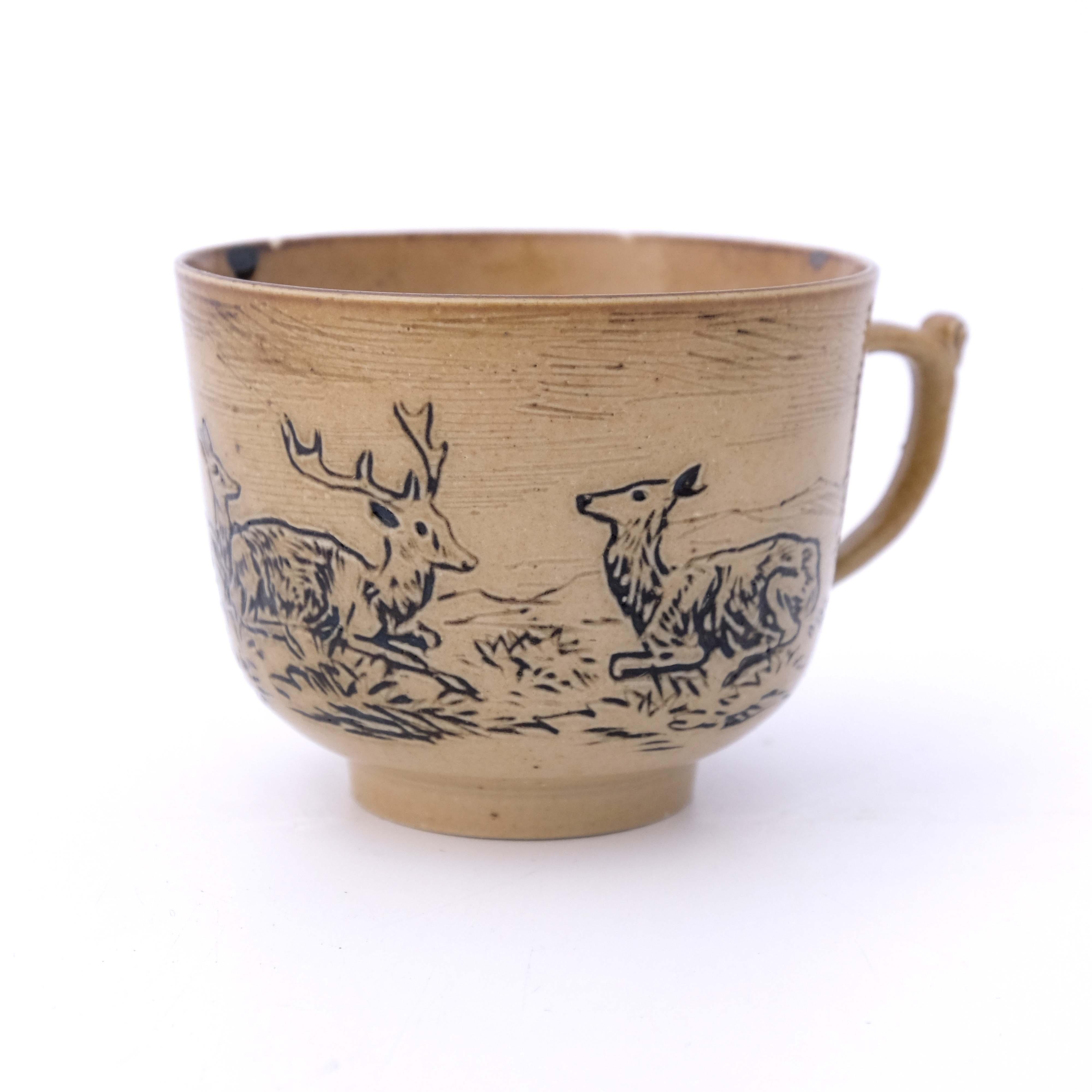 Hannah Barlow for Doulton Lambeth, a stoneware cof - Image 3 of 5