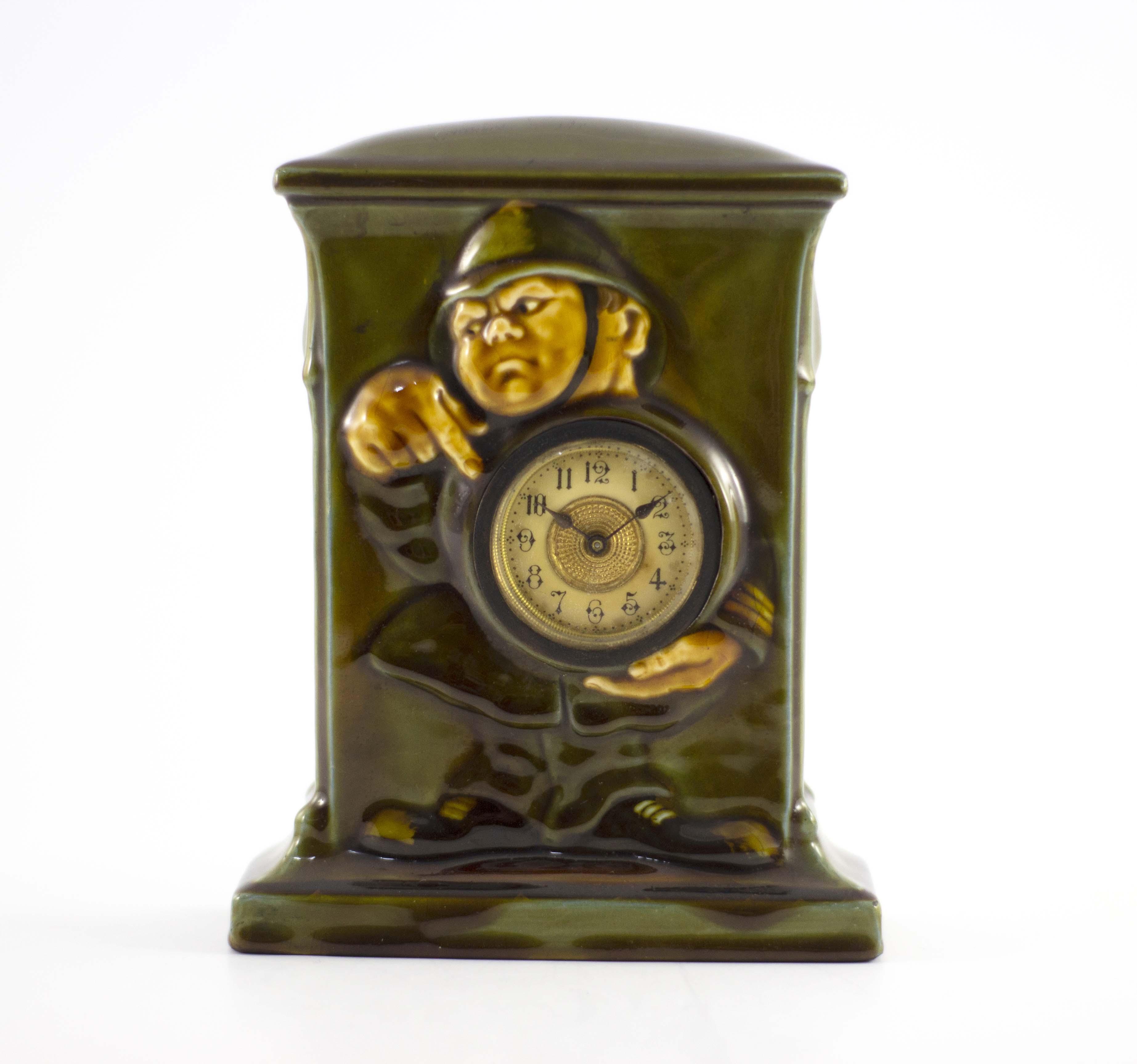 Charles Noke for Royal Doulton, a green Kingsware - Image 2 of 7