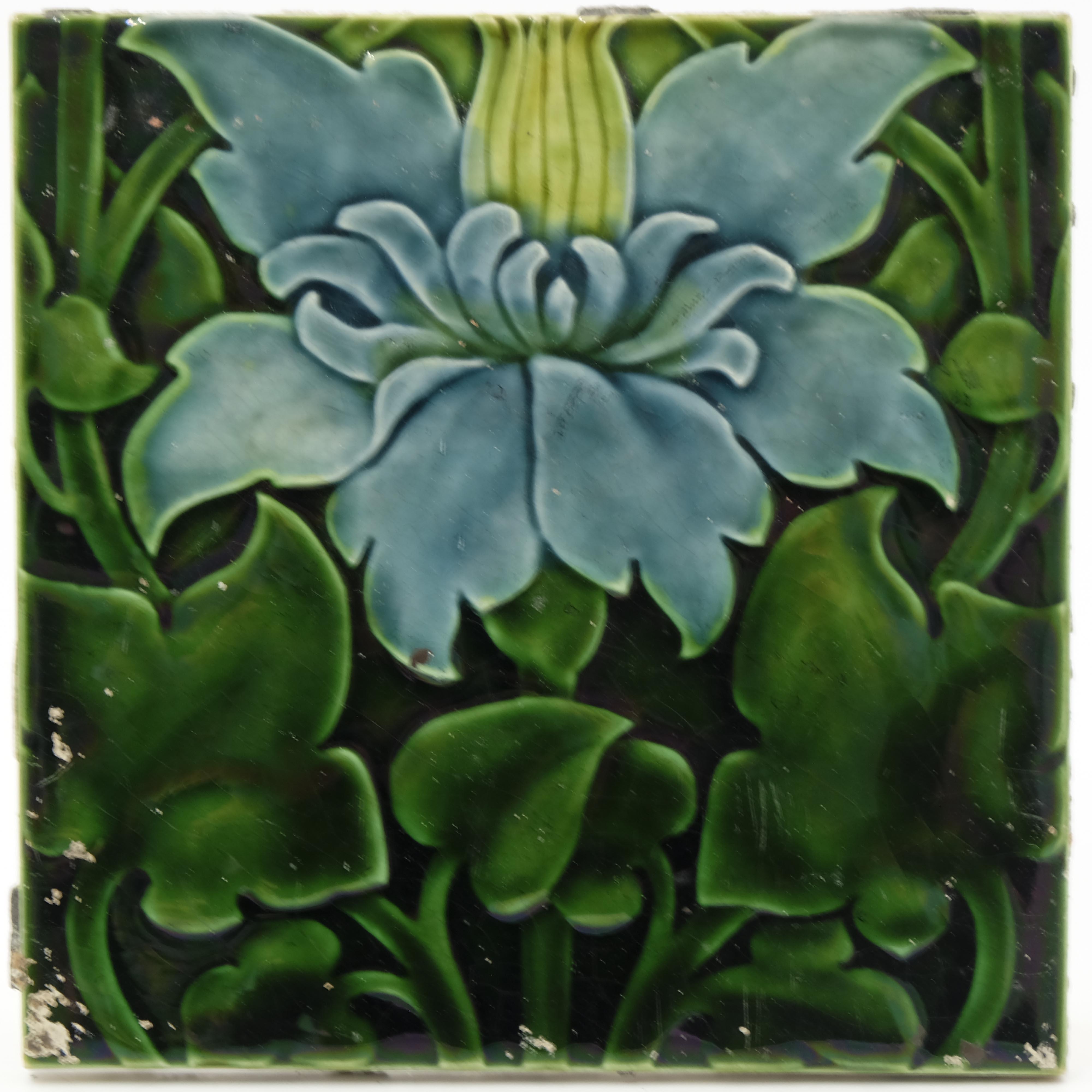 Lewis F Day for Pilkington, a set of thirteen flor