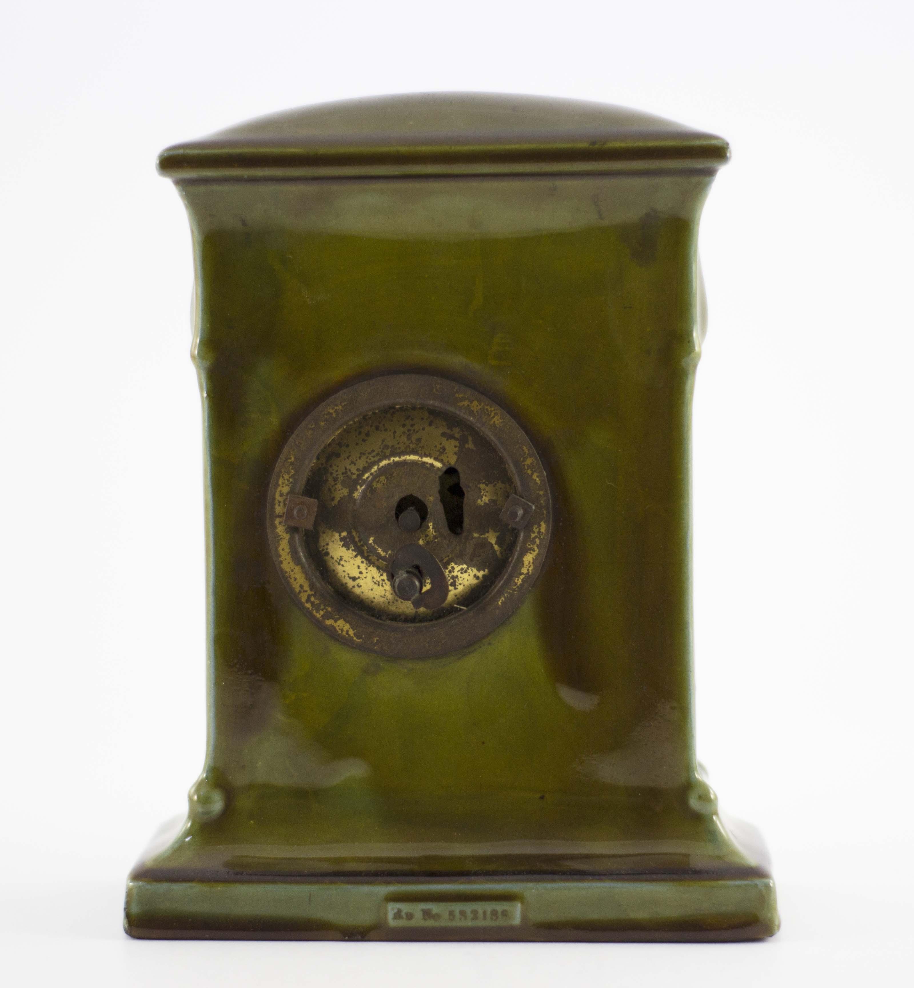 Charles Noke for Royal Doulton, a green Kingsware - Image 4 of 7