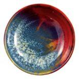 Harry Nixon for Royal Doulton, a Sung Flambe bowl