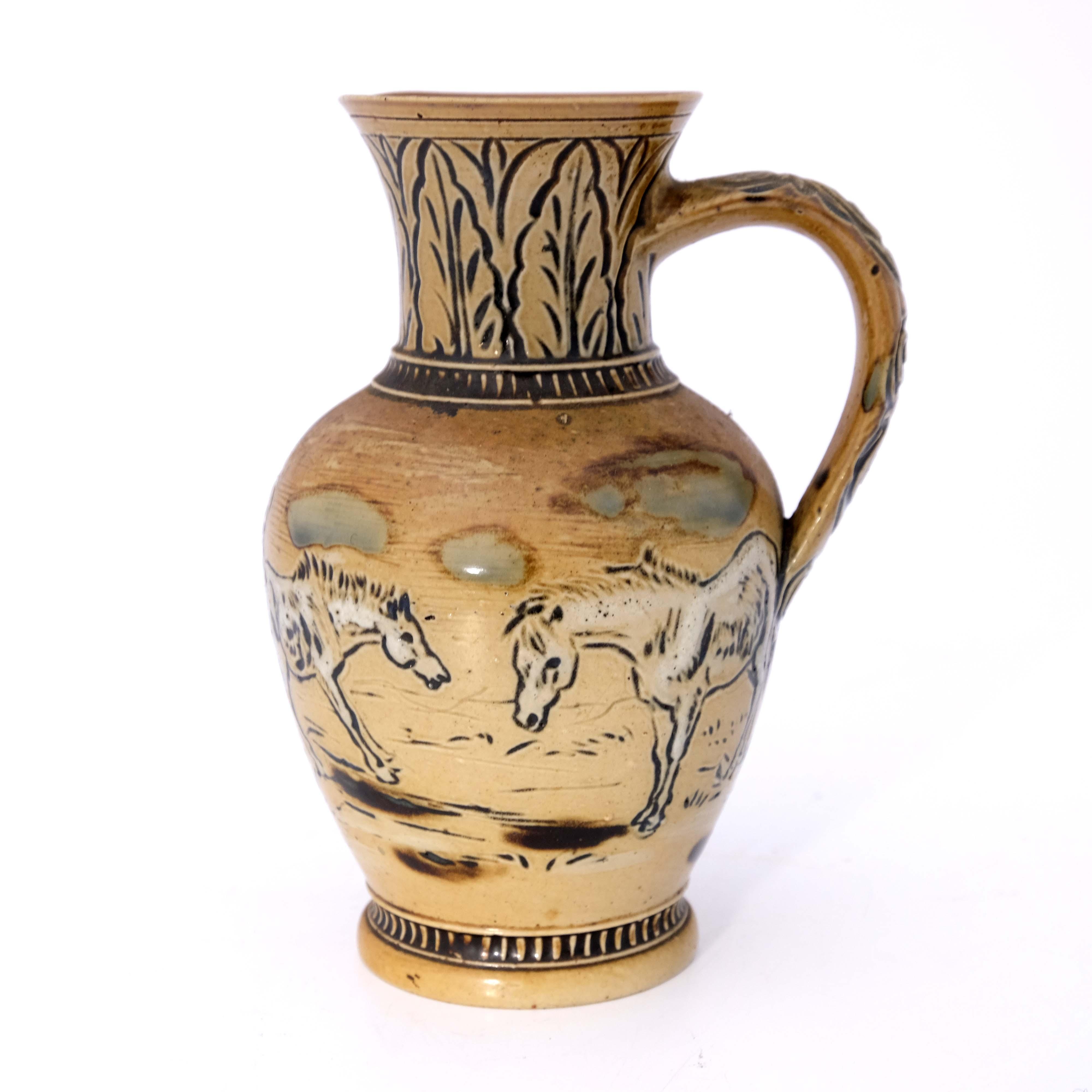 Hannah Barlow for Doulton Lambeth, a stoneware jug - Image 3 of 6