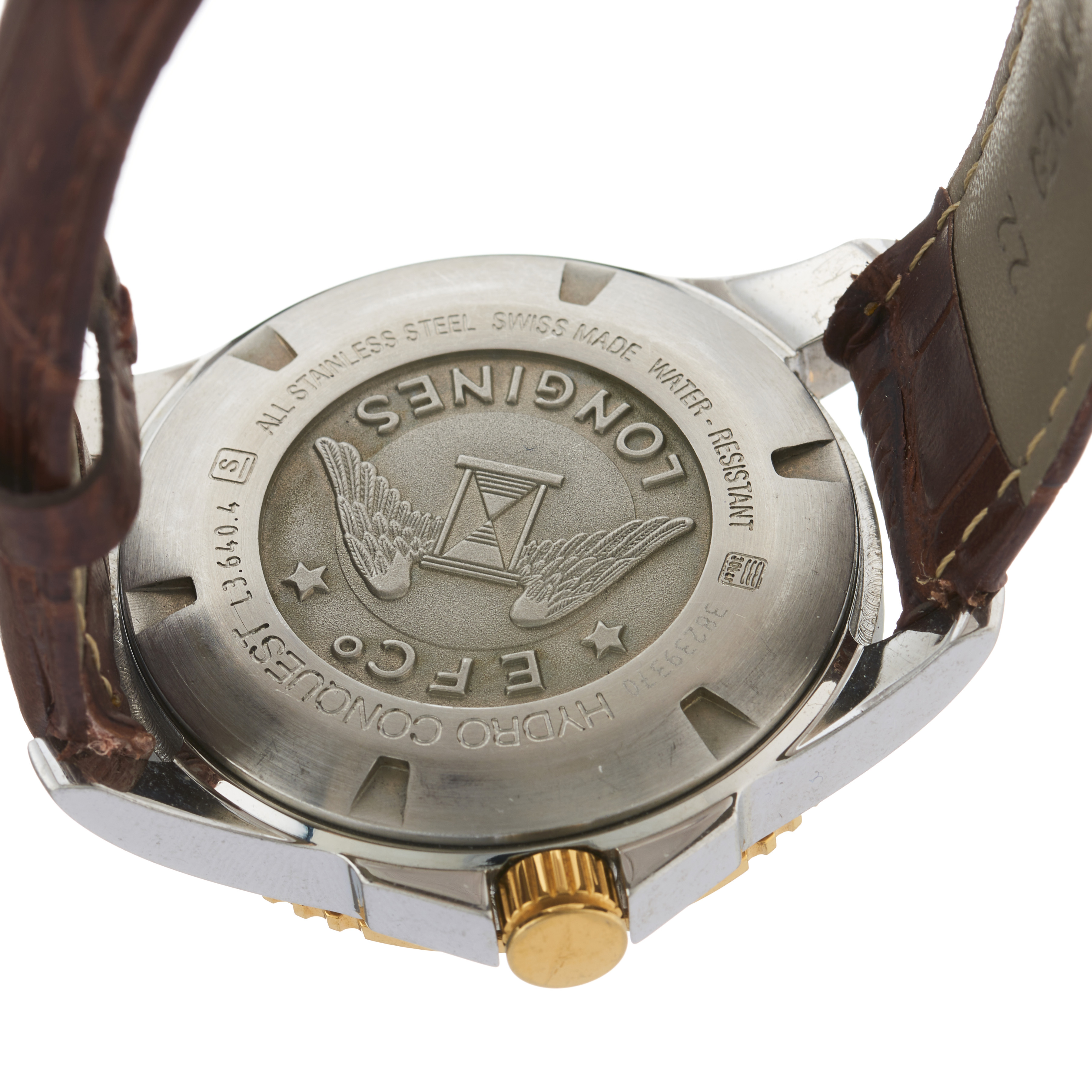 Longines, a stainless steel Hydro Conquest wrist watch - Image 2 of 3