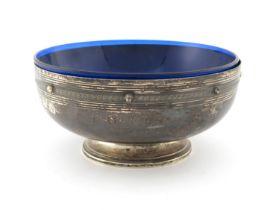 An American silver footed bowl, J E Caldwell, Philadelphia circa 1932