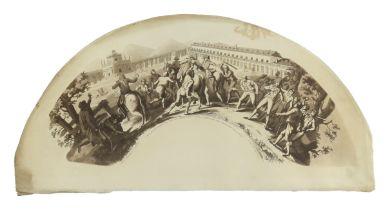 The Peninsular war: El 10 de Marzo de 1808, an original, 19th century unframed and unmounted printed