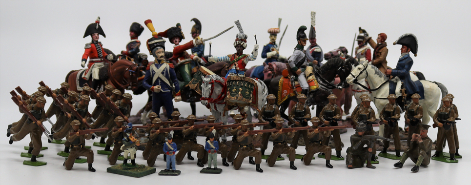 A collection of lead toys to include World War One British Army figures, collection Del Prado - Image 3 of 4