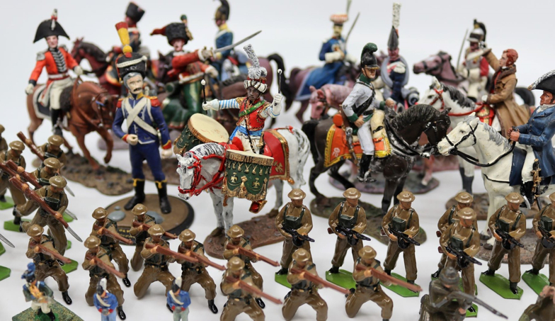 A collection of lead toys to include World War One British Army figures, collection Del Prado - Image 2 of 4