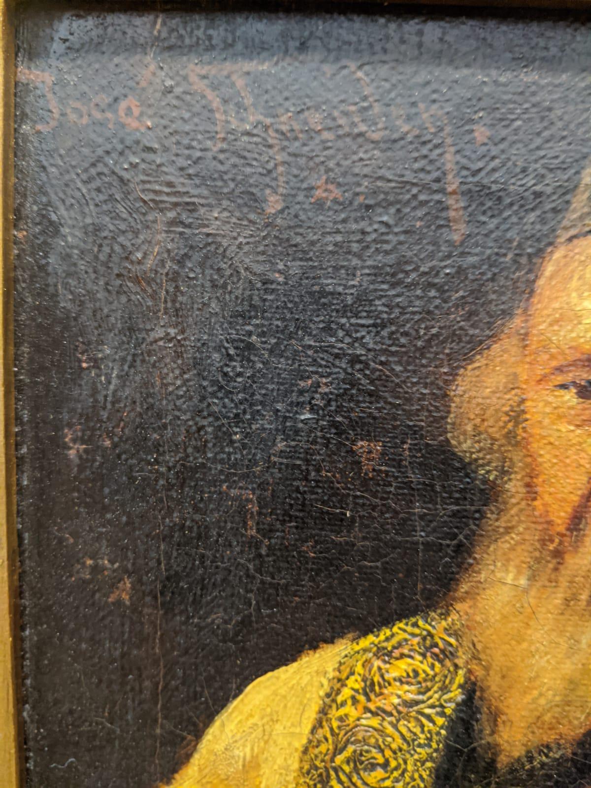 Jose Schneider (American/Spanish, 1848-1893), Rabbi Studying and Rabbi, oils on canvas, both - Image 3 of 7