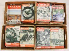 Konvolut von ca. 800 Auto/Motorrad Zeitschriften