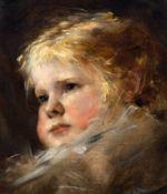 NIKOLAUS GYSIS(Sklavohory 1842–1901 München)Porträt eines Mädchens.Öl auf Leinwand.Unten rechts