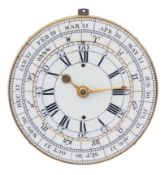 Thomas Mudge, technically and historically significant astronomical movement with double dial, equat