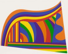 Sol Lewitt – Arcs and Bands in Colors 2