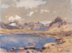 "Edward Harrison Compton – ""Bernina Pass"""