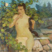 Erich Erler-Samaden – Frauenakt (Diana)