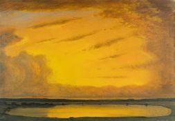 Robert Büchtger – Sonnenuntergang über einem See