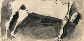 Kenneth Armitage – Reclining nude