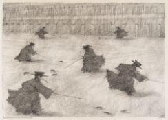 "Paul Flora – ""Die Rattenjagd der Pestdoctoren"""