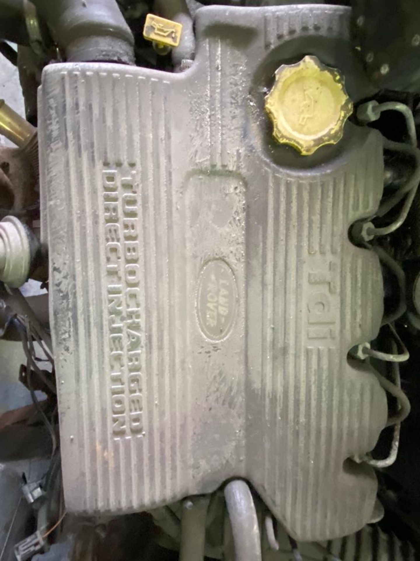Land Rover 110 County, 300 TDI Engine Appears Mostly Complete - No Bumper, Bonnet, Glass etc As - Image 20 of 26