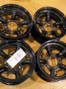 "Set Of 4 -Tuff Torque Challenge Modular Steel Wheel 16"""