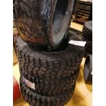 4: LT 305/70R 18126/123K Cooper Discover Armour TER 3 DOT 0515 with Hutchinson Bands