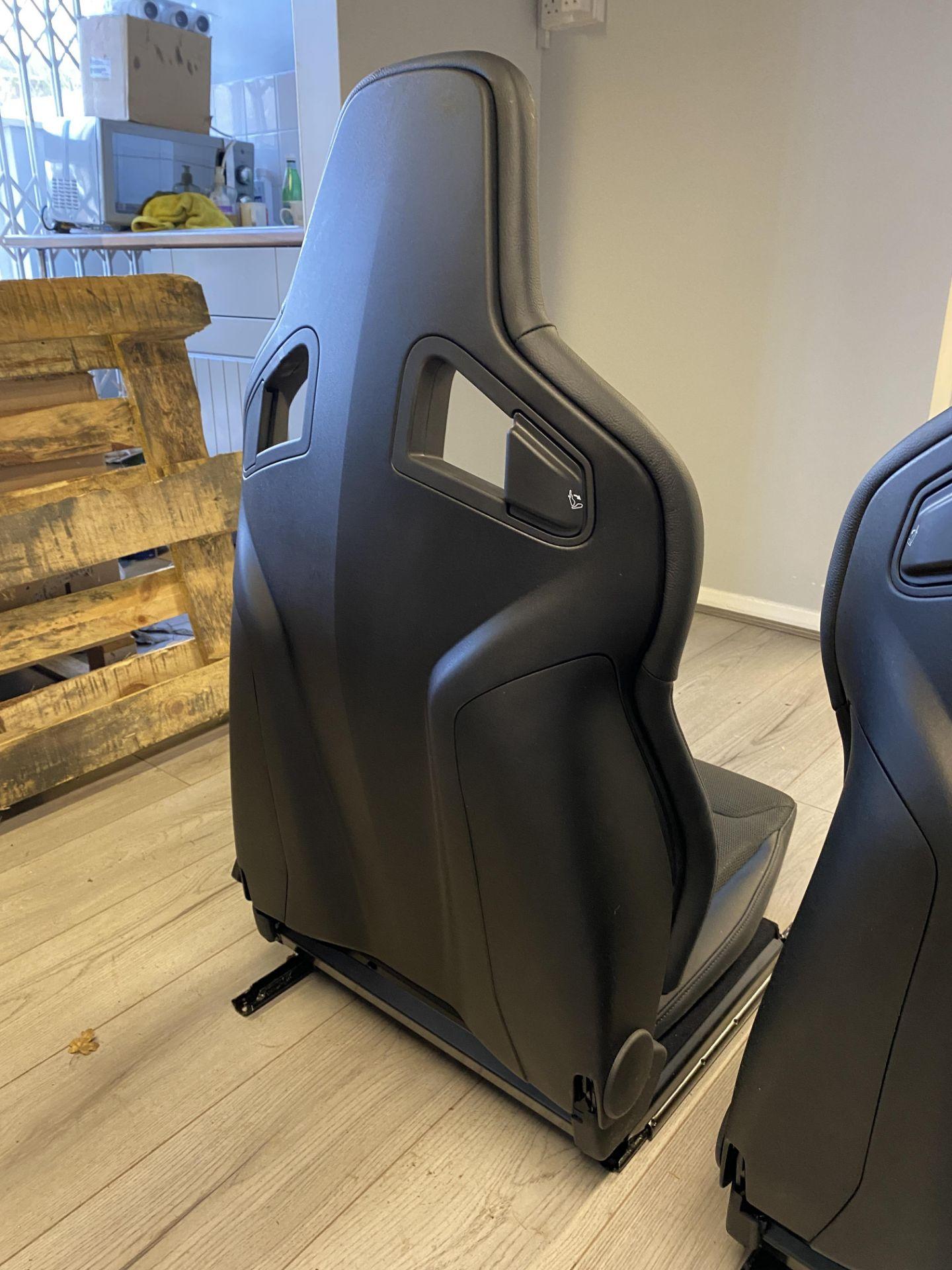 Pair of LH & RH Genuine Recaro Defender Heated Seats - Image 7 of 35