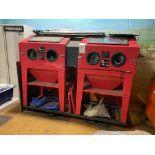 2: Sealey Shot Blasting Cabinets Model SB974.V4 Serial No: 201607052 & 1603026, (2016) The