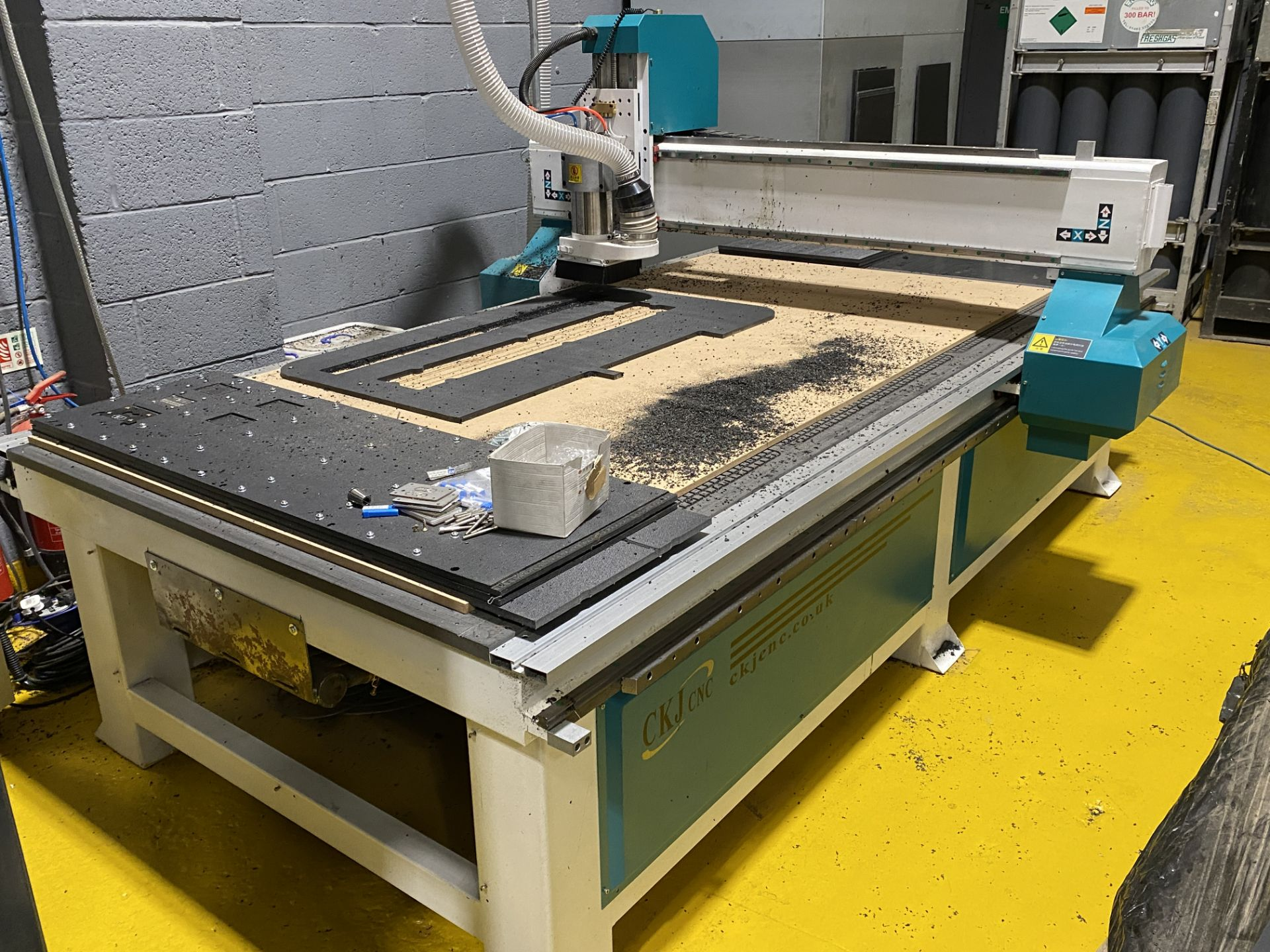 CKJ Model 1325, CNC Router, Working Area 1300mm x 1500mm - Image 4 of 8