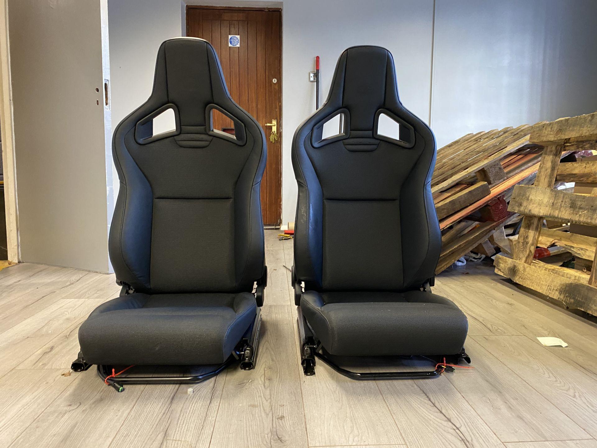 Pair of LH & RH Genuine Recaro Defender Heated Seats - Image 3 of 35