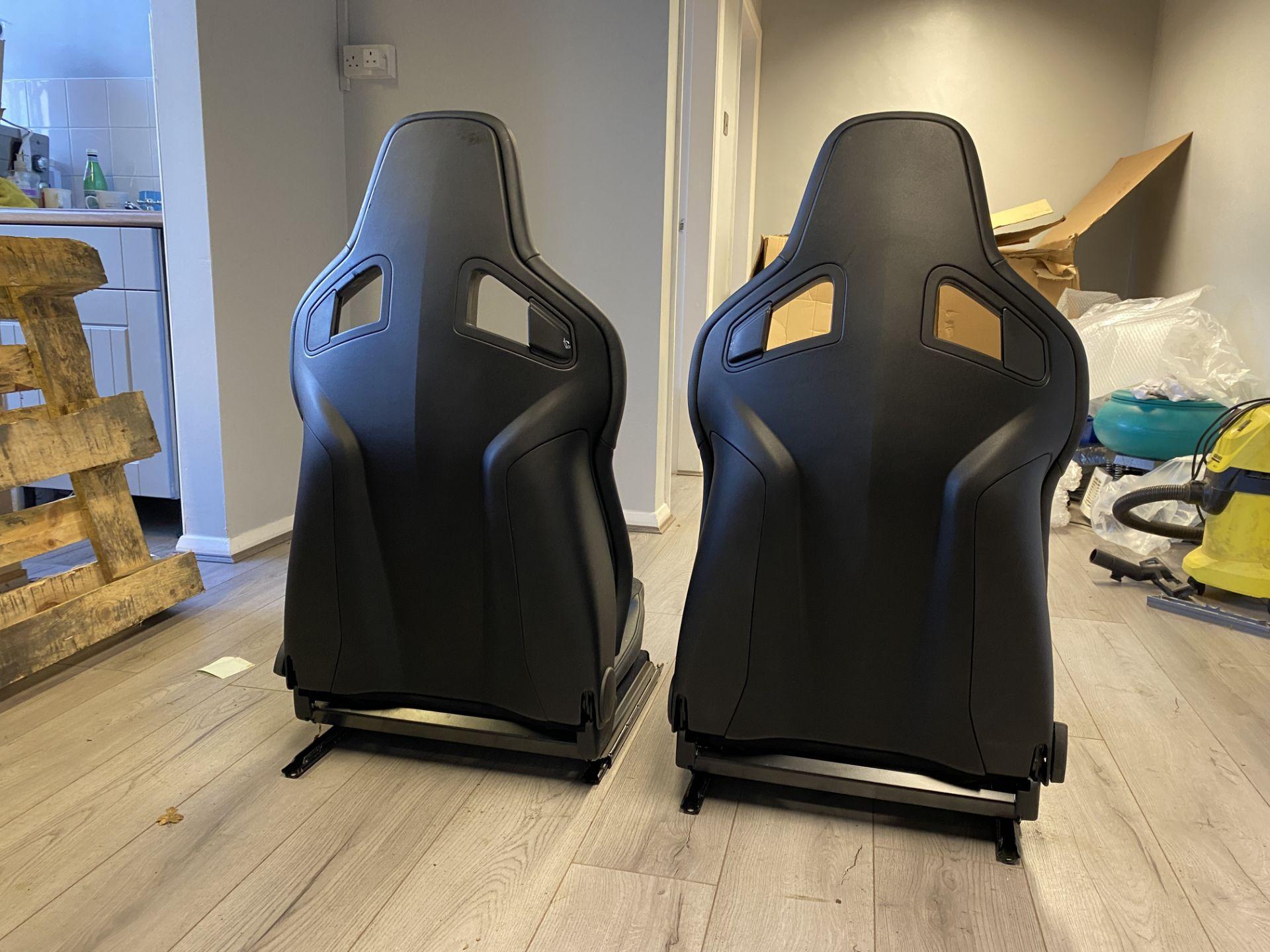 Pair of LH & RH Genuine Recaro Defender Heated Seats - Image 5 of 35