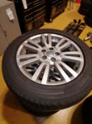 4: Land Rover Alloys Fitted with Pirelli 255 55 19 8JX19 ET 53 Produce Code AH 22-1007-ABW