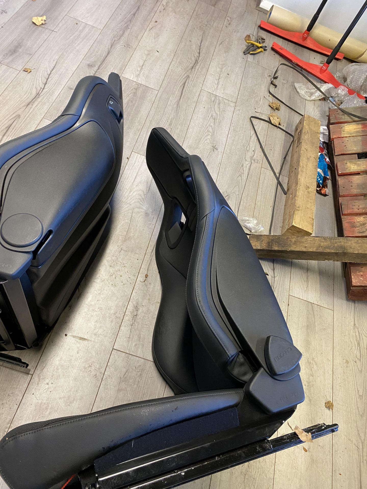 Pair of LH & RH Genuine Recaro Defender Heated Seats - Image 35 of 35