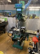 Elliott Milmor 10 Turret Milling Machine Serial No: 015807-119, complete with Sinpo - 3 Axis Dro