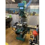Elliott Milmor 10 Turret Milling Machine Serial No: 015807-119, complete with Sinpo - 3 Axis Dro